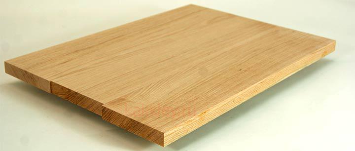 Обшивка металлической или бетонной лестницы массивом дерева
