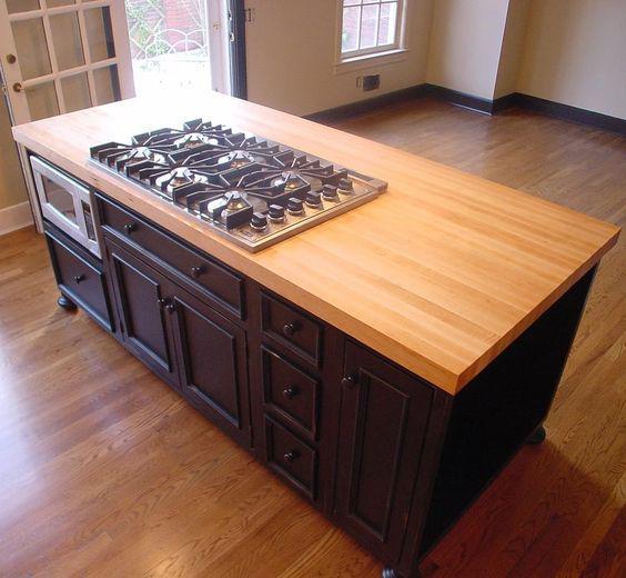 Кухонные столешницы из дерева