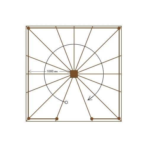 Круговая деревянная лестница