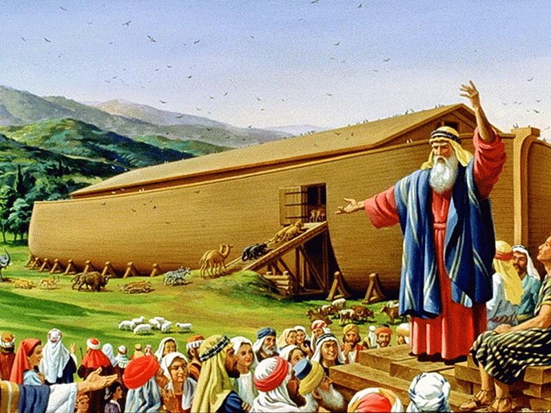Из какого дерева был построен Ноев ковчег?