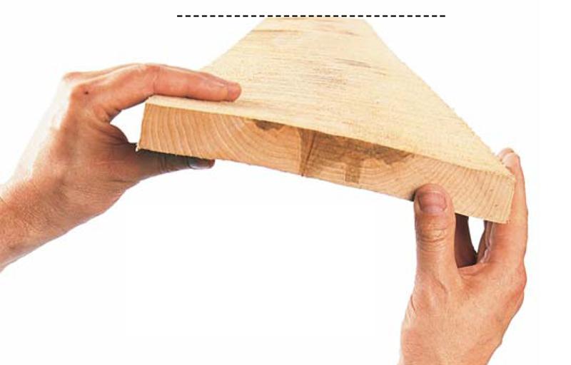 Почему повело мебельный щит