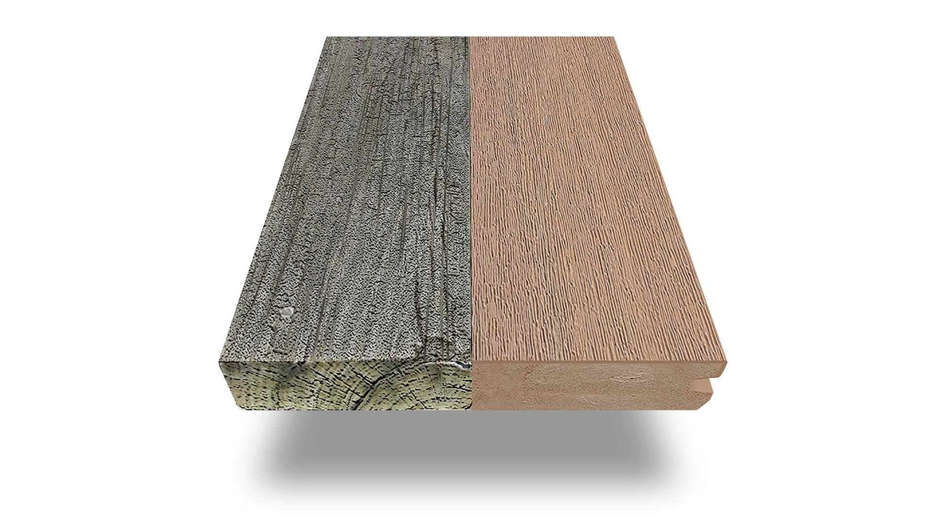 Террасная доска из дерева и пластика, что лучше?