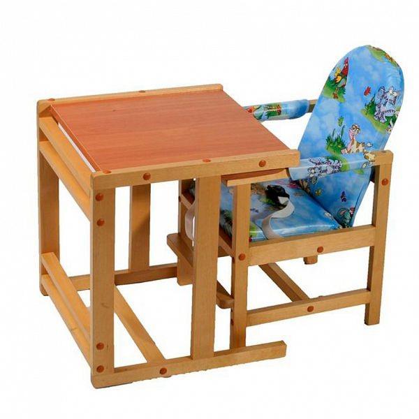 Детский стол из дерева