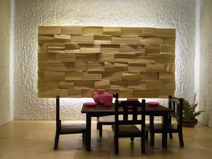 Деревянные 3D панели: функциональность и красота