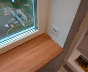 Деревянный подоконник для пластикового окна – оптимальный выбор