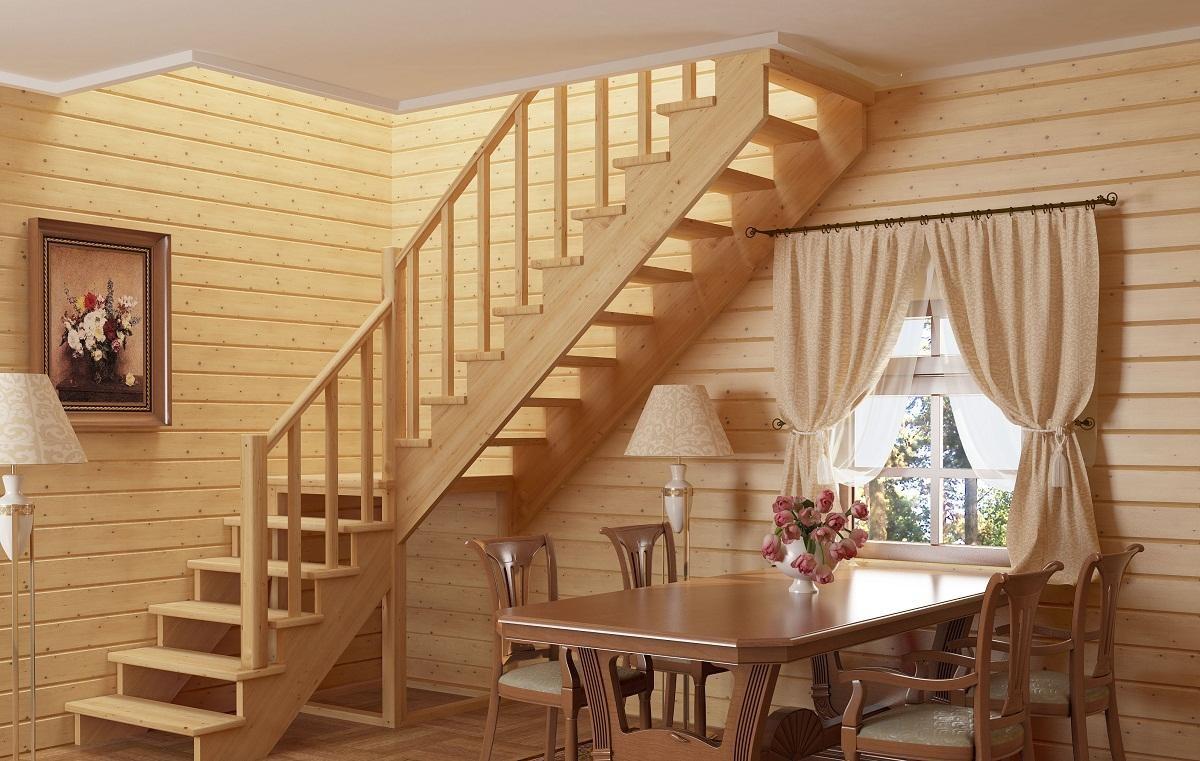Правила ухода за деревянной лестницей