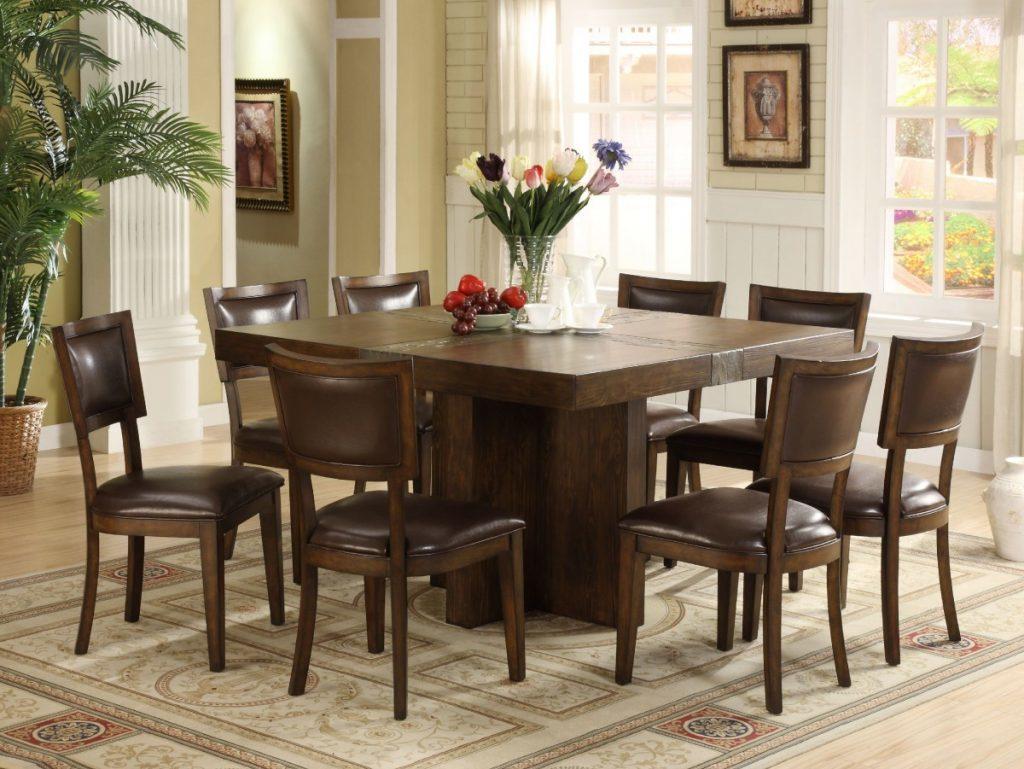 Что выбрать: Круглый или прямоугольный стол на кухню