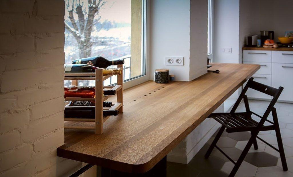 Как обновить деревянный подоконник