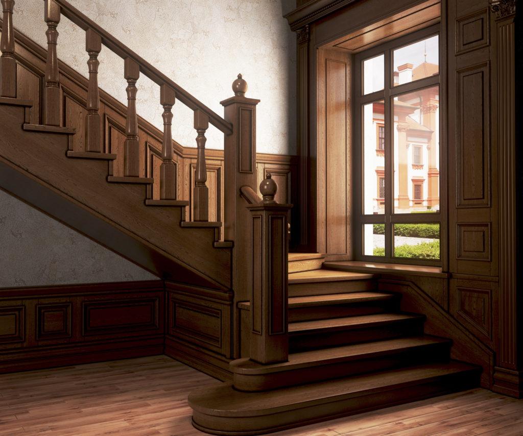 Какая деревянная лестница для дома лучше: открытая или закрытая